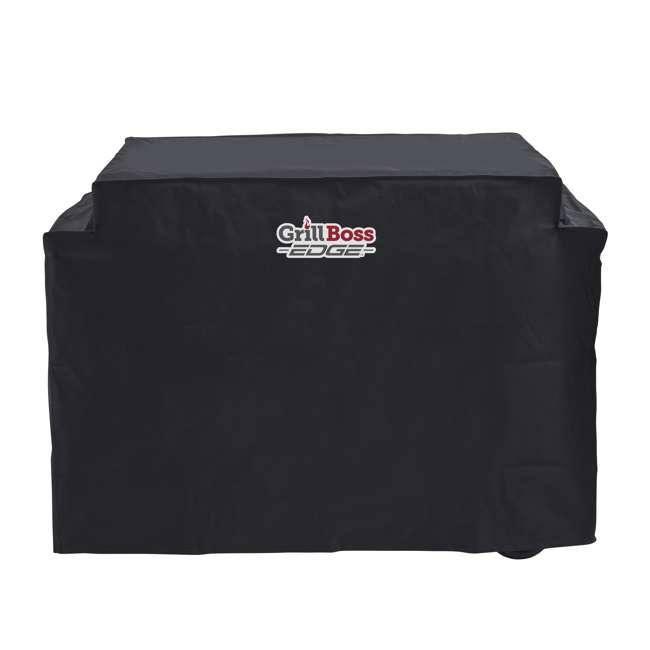 79866GB Grill Boss Edge Premium Weather Proof Outdoor Heavy Duty Griddle Cover, Black