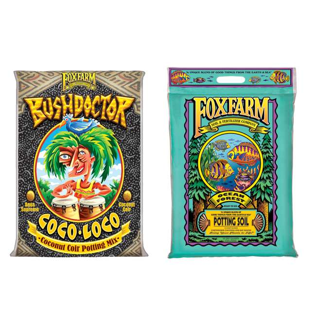 FX14100 + FX14053 FoxFarm Bush Doctor Coco Loco & Ocean Forest Soil Mix