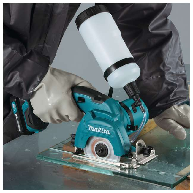 CC02R1 Makita 12-Volt CXT 3-3/8 Inch Tile Glass Saw Kit (2 Pack) 3