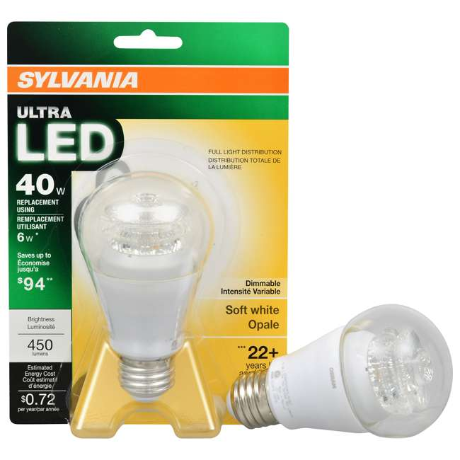 Sylvania 40w Dimmable Soft White Ultra Led Light Bulb