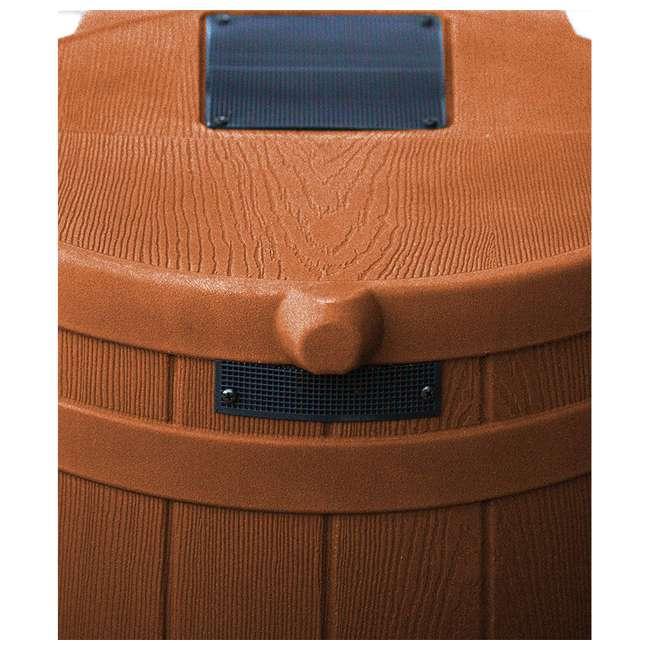 rw50-tc Good Ideas Rain Wizard Storage Collection Rain Barrel 50-Gallon, Terra Cotta 2