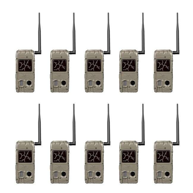 10 x G-5055-CL-DUAL20 Cuddeback CuddeLink Hunting and Game Trail Cameras (10 Pack)