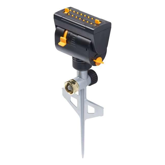 MEL-4065 Melnor MiniMax Turbo Oscillating Sprinkler on Step-Spike, Black 1