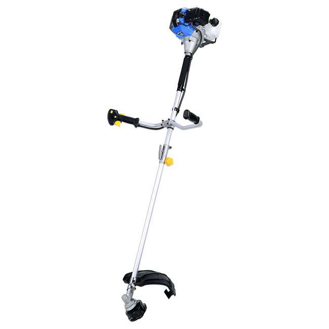 BLMAX-52623 Blue Max 52623 Straight Shaft 42.7cc Gas 2 Cycle Line Trimmer & Brush Cutter (Non-CARB Compliant)