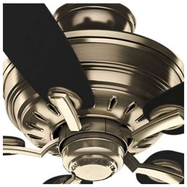 54119 Casablanca 54119 Adelaide 52 Inch Antique Brass Ceiling Fan w/ 5 Mahogany Blades 3