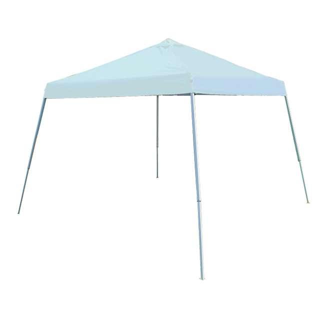 SLANT10-WH King Canopy 10 x 10-Foot 4 Leg Slanted Canopy, White
