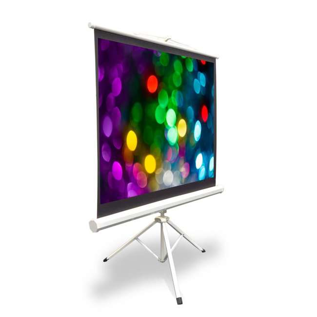 PRJTP52 Pyle 50-Inch Projector Viewing Fold-Out & Roll-Up Display Screen