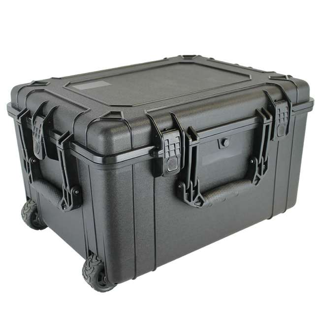H286BKF9790AC1-U-A Condition 1 Hard Shell Weather & Water Resistant Storage Case, Black (Open Box)
