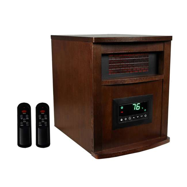 LS-1000X-6W-IN-U-A LifeSmart LifePro 6 1500W Electric Infrared Quartz Space Heater (Open Box)