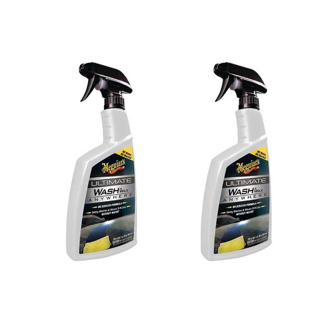 G3626 Meguiar's G3626 Car Truck RV Cleaner Waterless Wash and Wax, 26 Ounce (2 Pack) 1
