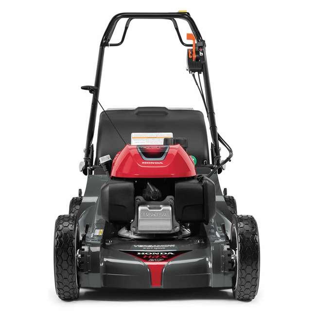 HRX217K6HYA Honda HRX217K6HYA 21 Inch 4 In 1 Versamow System Gas Walk Behind Lawn Mower, Red 1