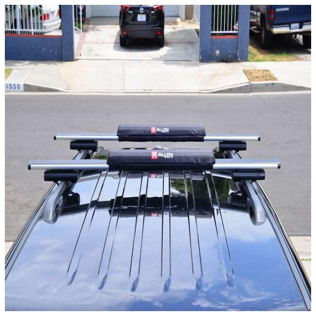 7010SU Allen Sports 24-Inch Rooftop Surfboard Rack Set (2 Pack) 2