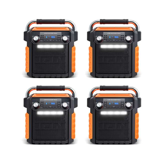 4 x iPA 81OR ION Audio Wireless Bluetooth Job Rocker Max Speaker (4 Pack)