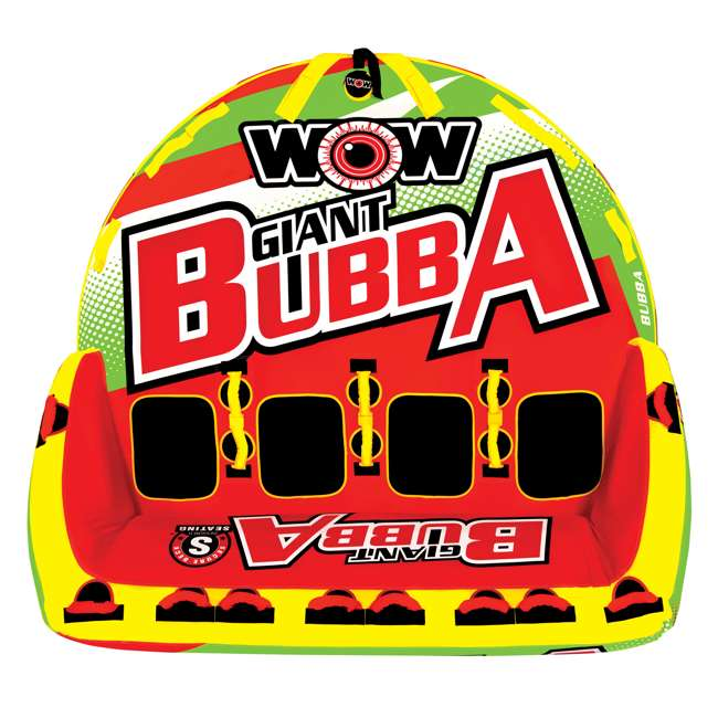 17-1070 World of Watersports Giant Bubba 4 Rider Inflatable Tube 1