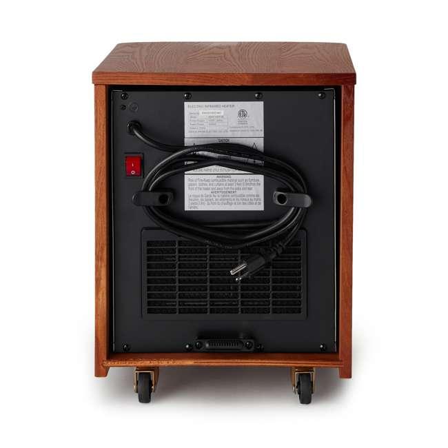 3 x LS-ZCHT1097US Lifesmart 6 Element 1500W Portable Infrared Quartz Mica Space Heater (3 Pack) 4