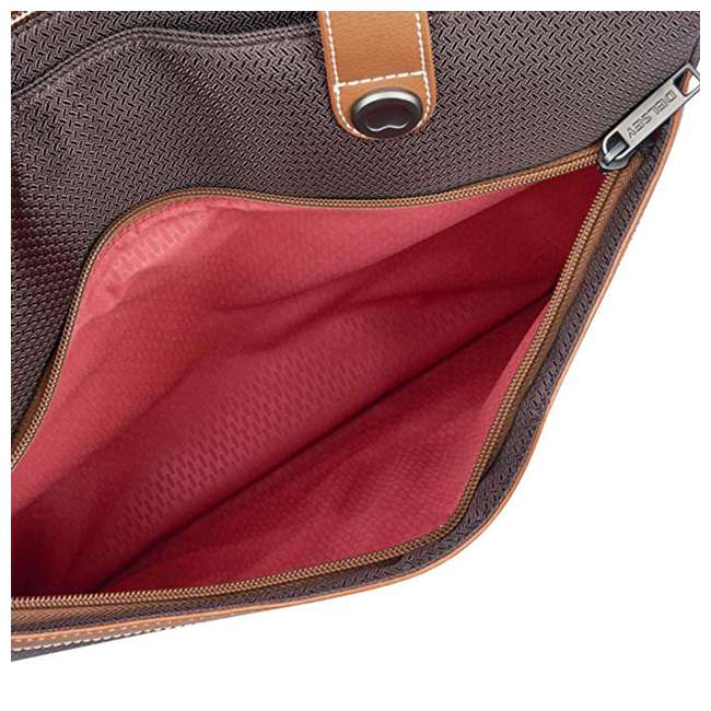 40177435006 DELSEY Paris Women's Chatelet Designer Soft Air Travel Shoulder Bag, Chocolate 6