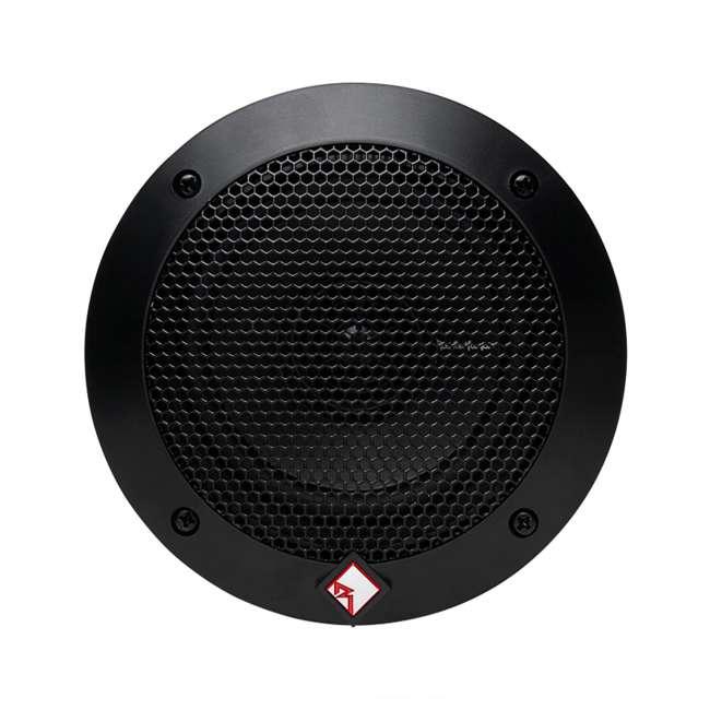 6 x R14X2 Rockford Fosgate R14X2 4-Inch 60W 2-Way Full Range Speakers (Pair) (6 Pack) 3