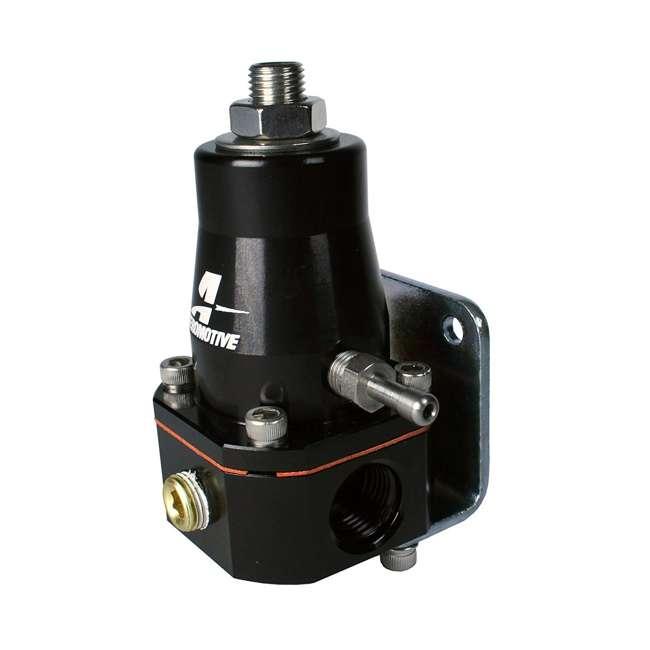 AERO-13136 Aeromotive AERO-13136 Compact Cleaner and Lighter EFI Bypass Regulator, Black 1