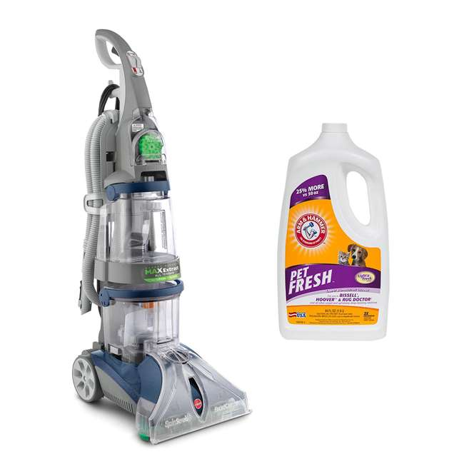F7452900 + 69955B Hoover Max Extract Carpet Hard Floor Washer & Pet Fresh Cleaner