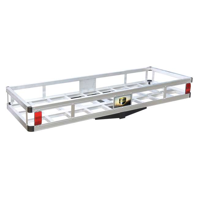 TOW-TTF-2260A Tow Tuff 60-Pound 500-Pound Aluminum Cargo Carrier (2 Pack) 5