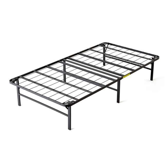 VMI-TIB2-112 intelliBASE Bi-Fold Metal Bed Frame, Twin (2 Pack) 1