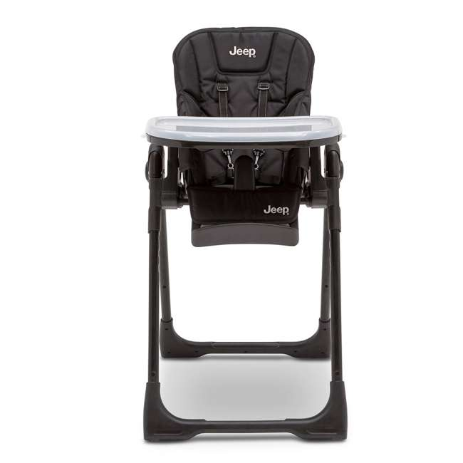 25008-2013 Jeep Classic Convertible Foldable High Chair for Babies and Toddlers, Black 1