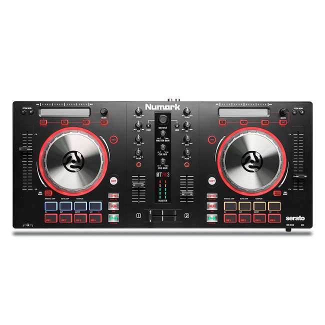 MixTrack Pro III-OB Numark All-In-One Mixtrack Pro 3 DJ Controller