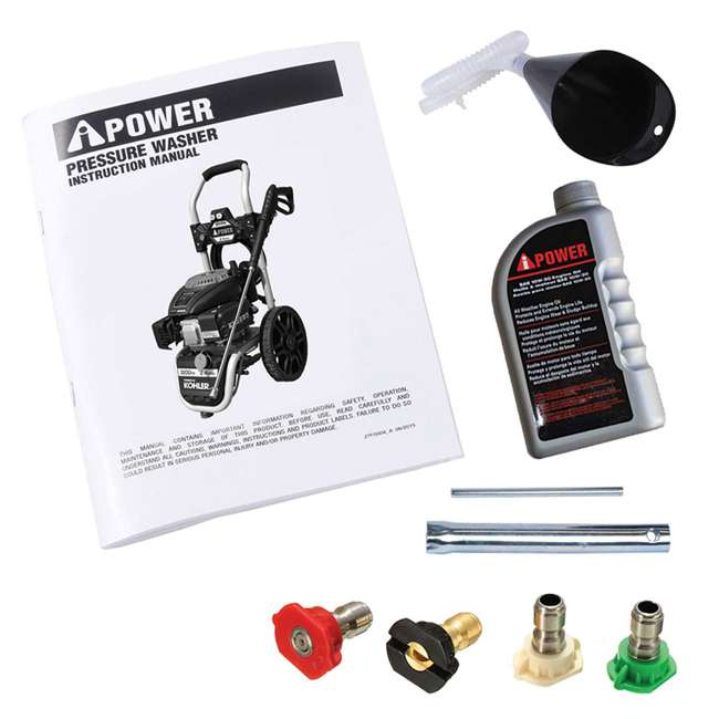 APW3200K A-iPower AWP3200K 3,200 PSI at 2.4 GPM Pressure Washer 5
