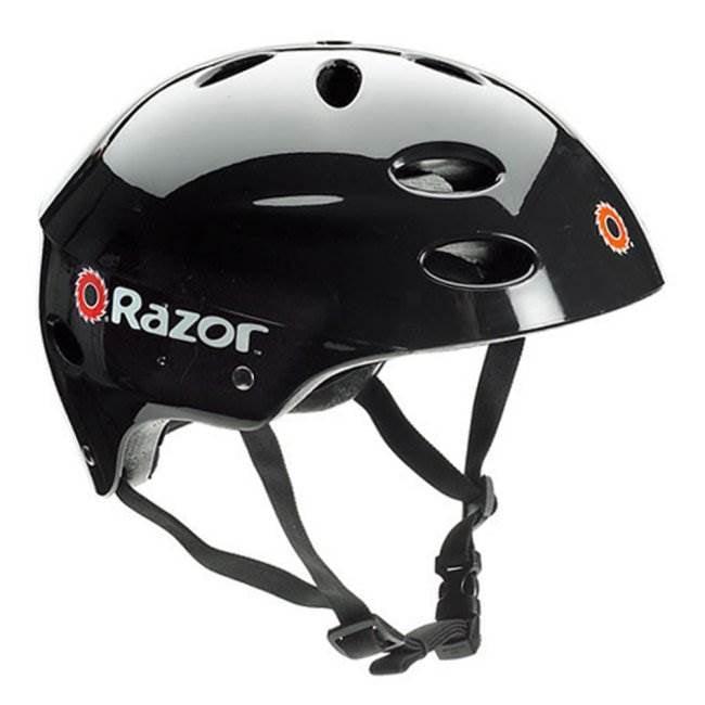 15130661 + 97780 Razor Pocket Mod Electric Retro Scooter, Purple & Helmet 6