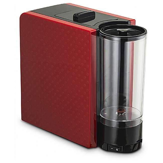 GCM7000R Gourmia GCM7000R Multi Capsule Espresso Coffee Machine with Pod Cartridges, Red 2