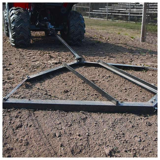 YARD-ATV-LD-U-C Yard Tuff ATV and Tractor Lawn Drag to Level Landscape (For Parts) 2