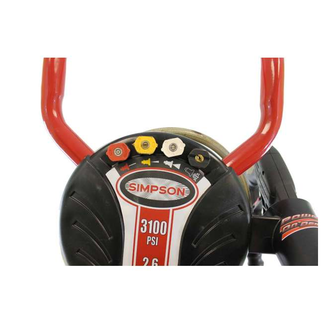 Simpson 3100 Psi 2 6 Gpm 190cc Megashot Gas Power Pressure