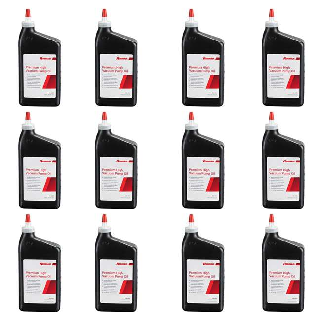 12 x ROB-13203-1PK Robinair Vacuum Pump Oil, Quart Bottle (12 Pack)