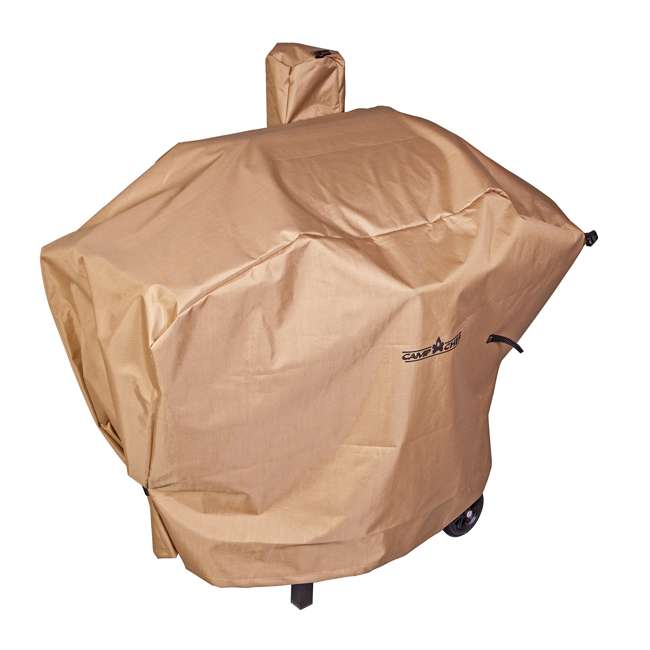 "12 x CC_PCPG24L Camp Chef Nylon 24"" Heavy Duty Pellet Grill Patio Cover, Tan (12 Pack) 1"