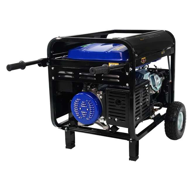 XP10000EH + XPLGC DuroMax 10000 Watt Hybrid Portable Generator & Generator Cover, Black 3