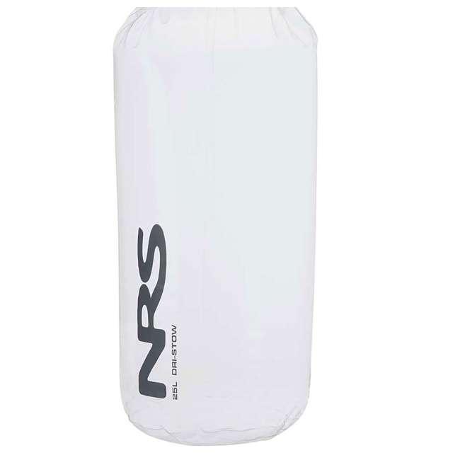 NRS_55021_02_103 NRS 25 Liter Dri-Stow Dry Sacks Clear Bag  4