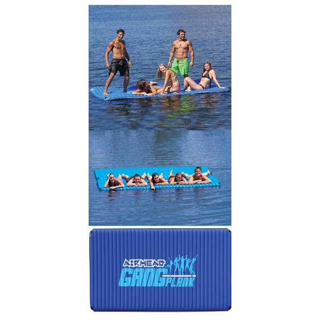 AHGP-6-OB AIRHEAD AHGP-6 Gang Plank Inflatable Floating Island Water (Open Box) 3