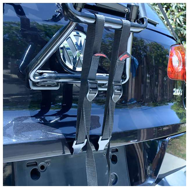 4 x S-103-U-B Allen Sports 3 Bike Foldable Trunk Carrier with Tie Down Straps (Used) (4 Pack) 3