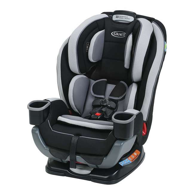 1964704 Graco Extend2Fit Convertible 3 in 1 Rear & Front Facing Car Seat/Booster, Garner 1