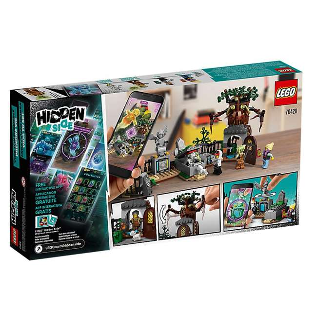 6250495 LEGO 70420 335 Piece Hidden Side Graveyard Mystery Kids Building Blocks Kit 4