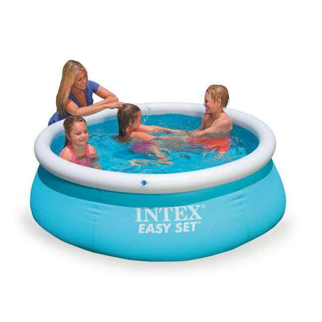 "28101EH-U-B Intex 6' x 20"" Easy Set Inflatable Swimming Pool 1"