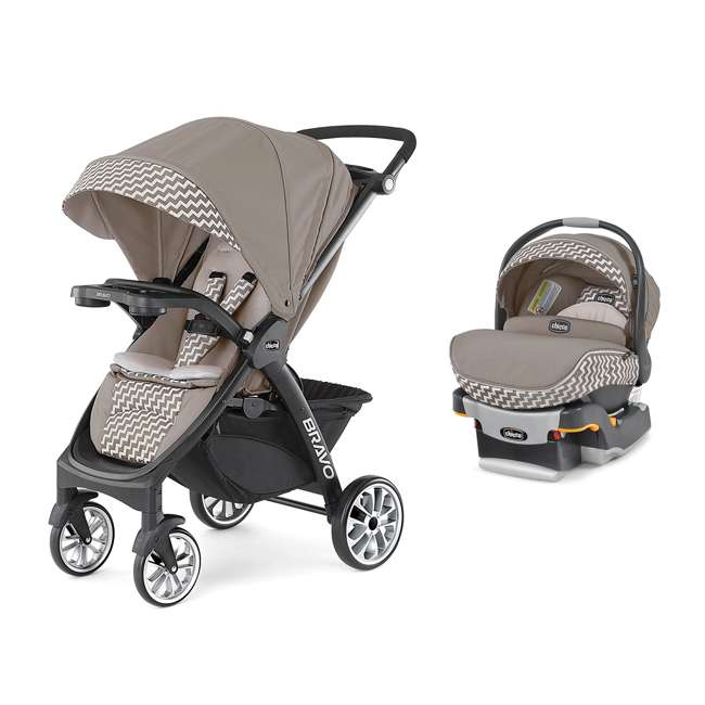 chicco bravo le stroller keyfit 30 zip infant car seat and base travel system 06079228420070. Black Bedroom Furniture Sets. Home Design Ideas