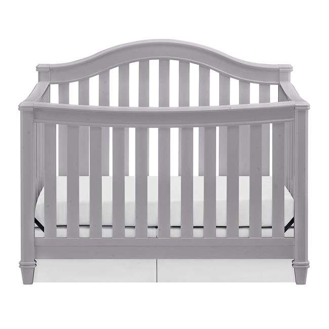 04565-40F Thomasville Kids Auburn 4-in-1 Convertible Baby Crib, Pebble Gray 1