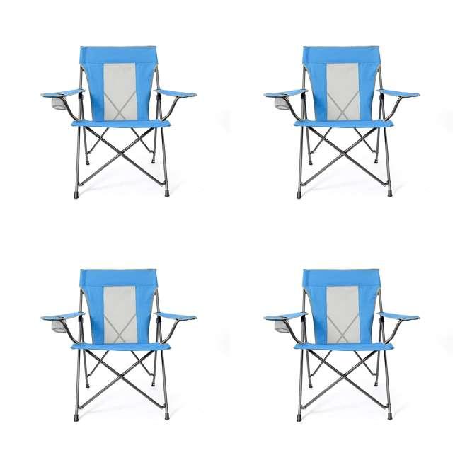 4 x MAC-C109S-105 Mac Sports Lusaka Folding Outdoor Camping Chair (4 Pack)