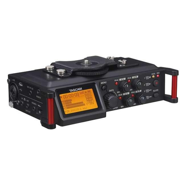 DR-70D + TAS AKDR70C + TH02-B Tascam 4-track PCM Audio Recorder + DSLR Accessory Kit + Studio Headphones 1