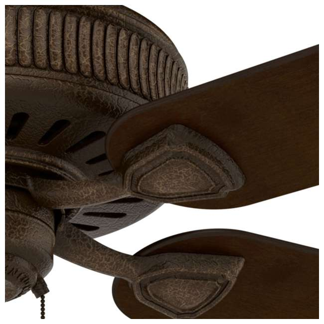 55002 Casablanca Ainsworth 60 Inch Indoor Ceiling Fan w/ Pull Chain, Provence Crackle 7