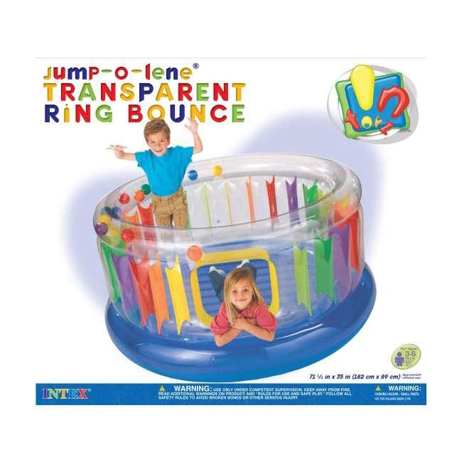 48261EP Intex Inflatable Jump-O-Lene Transparent Ring Bounce | 48261EP 1