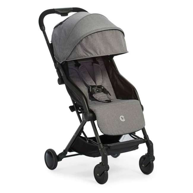 ZL034-GRN1 Contours Bitsy Lightweight Compact Folding Stroller, Granite Gray