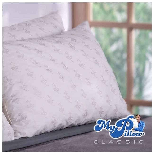 MP-KG-FF MyPillow Classic Series Foam King Sized Bed Deep Sleep Pillow, Green Firm Fill 2