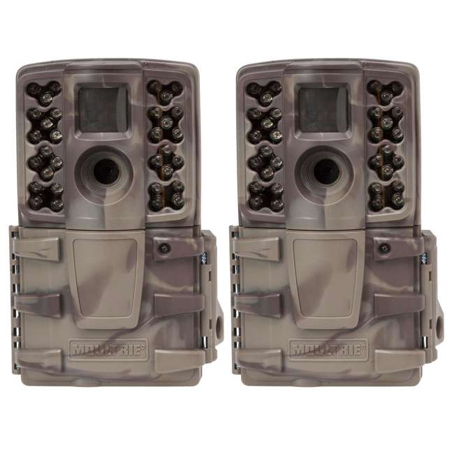 MCG-A20i (2) Moultrie No Glow 12MP Mini Infrared Game Cameras | A-20i